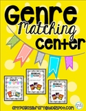 Genre Matching Center, Reading Center, Library Center