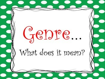 Genre Meaning