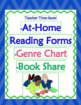 FREE Reading At-Home Program, Genre Menu & Book Share
