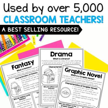 Genre Mini Anchor Charts