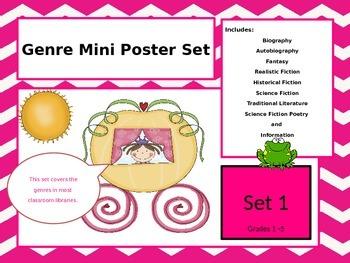 Genre Mini Poster Set 1