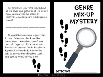 Genre Mystery Mix-Up