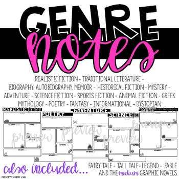 Genre Notes