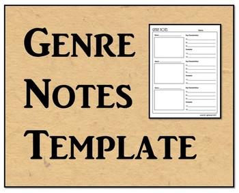 Genre Notes Template