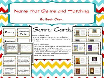Genre Pack with signs, definitions, activities/games, and a technology project