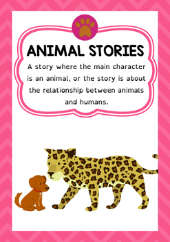 Genre Poster - Animal Stories