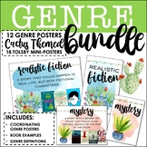 Genre Poster & Labels Bundle: 18+ Cactus Themed Posters & Tolsby Frame Labels