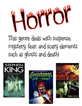 Genre Poster Horror