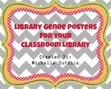 Genre Poster Printables