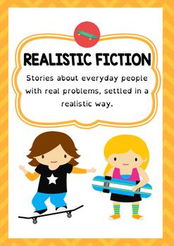 Genre Poster - Realistic Fiction