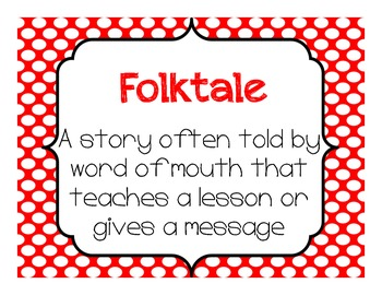 Genre Poster Set in Bold Polka Dots
