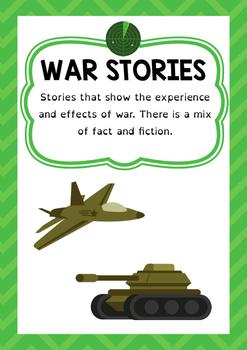Genre Poster - War Stories