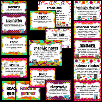 Groovy Genre Posters