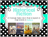 Genre Posters {17 Posters} Upper Grades, Polka Dots, Turquoise