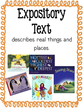 Genre Posters By Elementary Edugator Tpt