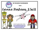 Genre Posters, 8.5x11