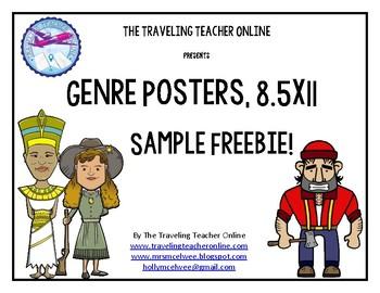Genre Posters 8.5x11 Sample Freebie