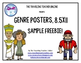 Genre Posters 8.5x11 Sample Freebie