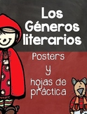 Genre Posters & Activities- Posters de Géneros Literarios
