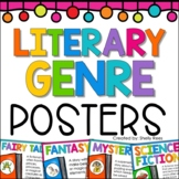 Genre Posters for Reading Genre
