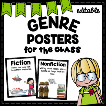 Genre Posters- Red
