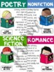 Genre Posters Classroom Decor and Chart Papers