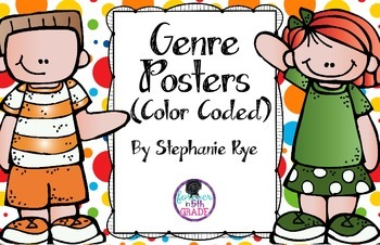 Genre Posters (Color Coded)