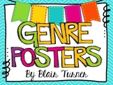Genre Posters - Colorful Chevron Theme