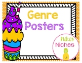 Genre Posters--Cupcake Style