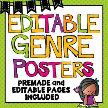 Genre Posters~ Editable