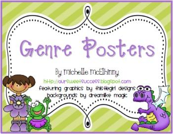 Genre Posters FREEBIE
