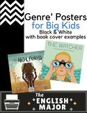 20 Genre' Posters - Global Citizenship & Diversity representation - Black Titles