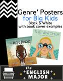 20 Genre' Posters - Global Citizenship & Diversity represe