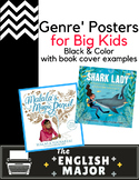 20 Genre' Posters - Global Citizenship & Diversity representation - Color Titles