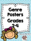 Genre Posters, Grades K-5