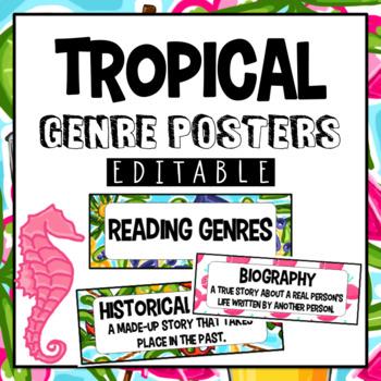 Genre Posters- Hawaiian Theme