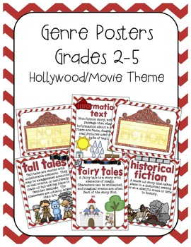 Genre Posters- Hollywood Theme
