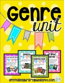 Genre Posters, I Have..Who Has game, Matching Center, Library Lesson
