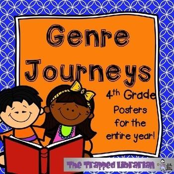 Genre Posters: Journeys BUNDLE Grades 3-5