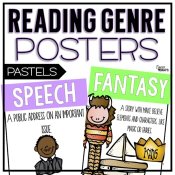 Genre Posters {Light Pastels}