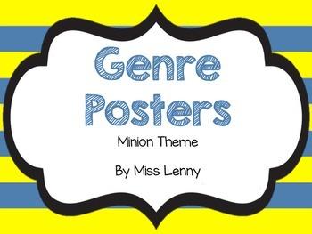 Genre Posters Minion Theme
