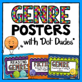 Genre Posters with Dot Dudes