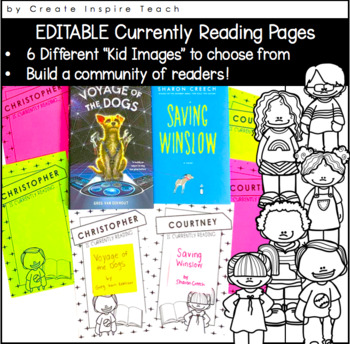 Genre Posters - Reading Tracker Forms - Currently Reading Display