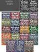 Genre Posters Set of 21 ~ Bokeh Style