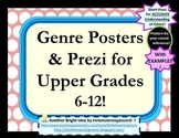 Genre Posters & Short PowerPoint Presentation for Upper Levels - More than Decor