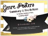 Genre Posters-Summary & Predictions (with Bonus interactive game) {EDITABLE}