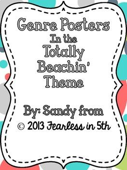 Genre Posters - Totally Beachin' Theme