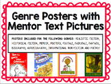 Genre Posters With Mentor Text Pictures
