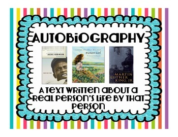 Genre Posters and Book Notes