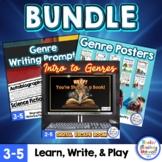 Genre Posters & Genre Digital Escape Room Bundle